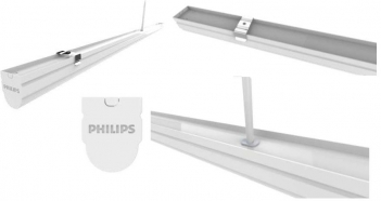 Máng đèn Led 0m6 T8 BN012C Philips